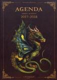 Séverine Pineaux - Agenda année scolaire dragons.