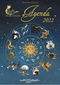 Séverine Pineaux - Agenda Chats du zodiaque.