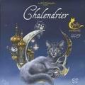 Séverine Pineaux - Chalendrier chats enchantés.