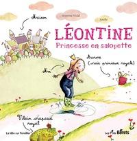 Séverine Vidal et  Soufie - Léontine - Princesse en salopette.