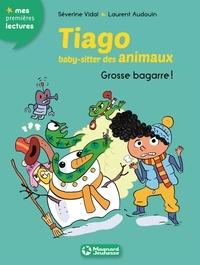 Séverine Vidal et Laurent Audouin - Tiago, baby-sitter des animaux Tome 5 : Grosse bagarre !.