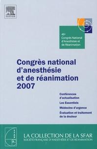 SFAR - Congrès national d'anesthésie et de réanimation 2007.