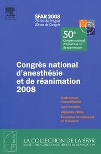 SFAR - Congrès national d'anesthésie et de réanimation 2008.