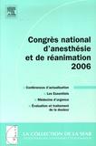 SFAR - Congrès national d'anesthésie et de réanimation.