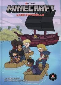 Sfé R. Monster et Sarah Graley - Minecraft - La BD officielle Tome 2 : Le monument au fond de l'océan - Avec une carte exclusive offerte.