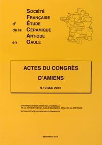 SFECAG - Actes du Congrès d'Amiens - 9-12 mai 2013.