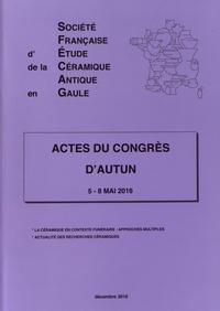 SFECAG - Actes du Congrès d'Autun - 5-8 mai 2016.