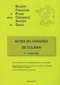 SFECAG - Actes du congrès de Colmar - 21-24 mai 2009.