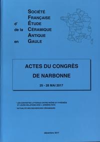SFECAG - Actes du Congrès de Narbonne - 25-28 mai 2017.