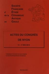 SFECAG - Actes du congrès de Nyon - 14-17 mai 2015.