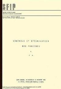SFIP - Contrôle et optimisation des procédés.