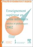 SFISI et  SRLF - Enseignement supérieur en soins infirmiers adultes et pédiatriques 2002.