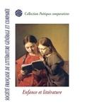 Sflgc Sflgc - Enfance et littérature - Société française de littérature générale et comparée.