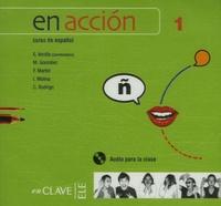Elena Verdia - En accion 1, curso de español - CD audio para la clase.
