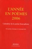 Shafiq Naz - Calendrier de la poésie francophone - 365 poèmes classiques et contemporains.