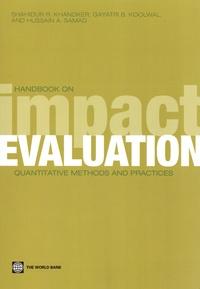 Shahidur R Khandker et Gayatri Koolwal - Handbook on impact evaluation - Quantitative methods and practices.
