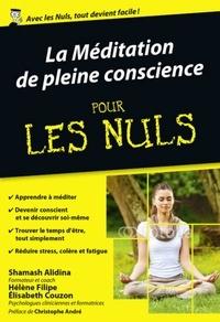 Ebooks format mobi téléchargement gratuit La méditation de pleine conscience pour les nuls 9782412015681 (French Edition) par Shamash Alidina