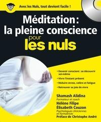 Shamash Alidina - Méditation : la pleine conscience pour les nuls.