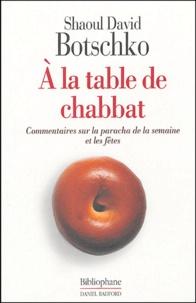 Goodtastepolice.fr A la table de Chabbat Image