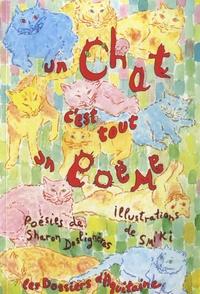 Sharon Deslignères - Un chat c'est tout un poème.