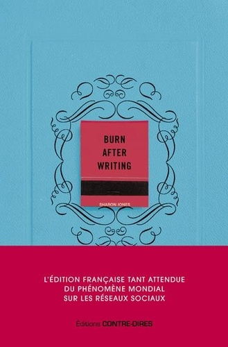 Burn after writing 2e édition