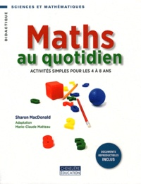 Accentsonline.fr Maths au quotidien - Activités simples pour les 4 à 8 ans Image