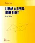 Sheldon Axler - LINEAR ALGEBRA DONE RIGHT. - Second Edition.