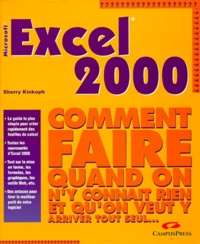 Excel 2000 - Microsoft, comment faire quand on ny connaît rien et quon veut y arriver tout seul.pdf