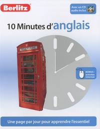 Sheryl Olinsky Borg - 10 Minutes d'anglais. 1 CD audio