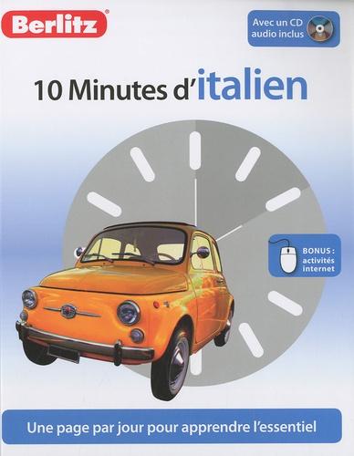 Sheryl Olinsky Borg - 10 minutes d'Italien. 1 CD audio