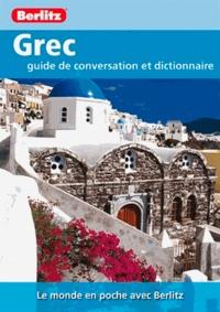 Sheryl Olinsky Borg - Grec - Guide de conversation et dictionnaire.
