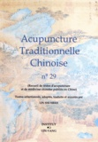 Shi Shan Lin - Acupuncture traditionnelle chinoise n° 29.