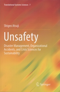 Histoiresdenlire.be Unsafety - Disaster Management, Organizationnal Accidents, and Crisis Sciences for Sustainability Image