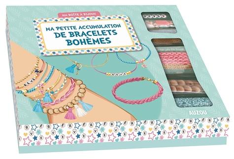 Shiilia - Ma petite accumulation de bracelets bohèmes - Avec 1 livre de 24 pages et du matériel.