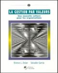 Shimon Dolan et Salvador Garcia - La gestion par valeurs. - Une nouvelle culture pour les organisations.