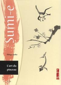 Sumi-e, L'art du pinceau