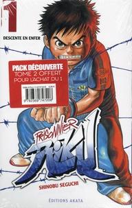 Shinobu Seguchi - Prisonnier Riku  : Pack en 2 volumes : Tome 1, Descente en enfer et Tome 2, Résister ou mourir - Dont Tome 2 gratuit.