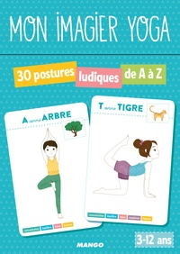 Shobana-R Vinay - Mon imagier yoga - Avec 30 cartes illustrées.