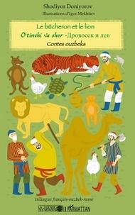 Galabria.be Le bûcheron et le lion - Contes ouzbeks, édition français-ouzbek-russe Image