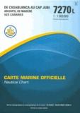 SHOM - carte marine : de Casablanca au cap jubi.