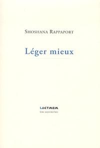 Shoshana Rappaport - Léger mieux.