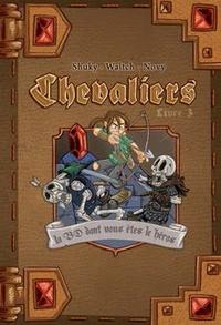 Shuky et  Waltch - Chevaliers Tome 3 : La cité ensevelie.