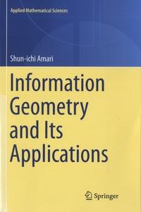 Shun-ichi Amari - Information Geometry and Its Applications.