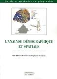 Sid-Ahmed Souiah et Stéphanie Toutain - L'analyse démographique et spatiale.