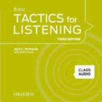 Jack-C Richards et Grant Trew - Basic Tactics for Listening - Class Audio. 2 CD audio
