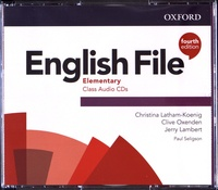 Christina Latham-Koenig et Clive Oxenden - English File Elementary. 4 CD audio