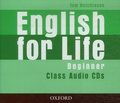 Tom Hutchinson - English for life - Beginner class audio cds.