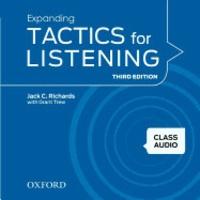 Jack-C Richards et Grant Trew - Expanding Tactics for Listening - Class Audio. 2 CD audio