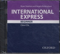Bryan Stephens et Angela Buckingham - International Express Beginner - Class CDs. 1 CD audio