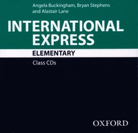 Angela Buckingham et Bryan Stephens - International Express Elementary - Class CDs. 2 CD audio